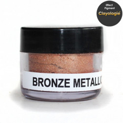 Bronze Metallic Effect Pigment, 5ml jar