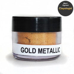 Gold Metallic Effect Pigment, 5ml jar