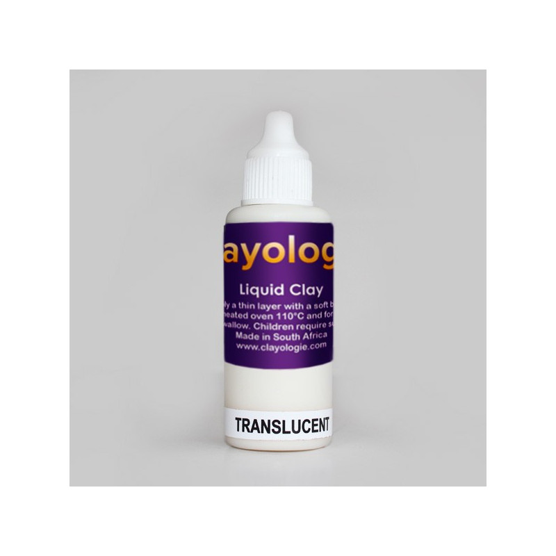 Transluscent Liquid Clay, 30ml