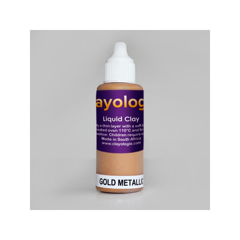 Gold Liquid Clay, 30ml