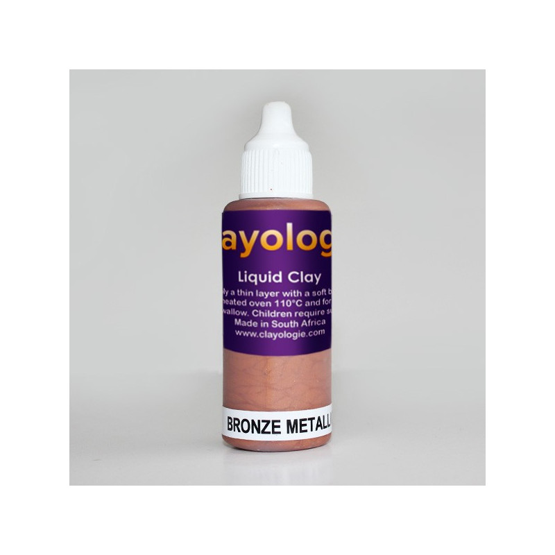 Bronze Liquid Clay, 30ml