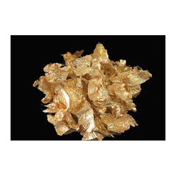 Leaf Flakes - Gold (three 14x14cm sheets, flakes in tub)